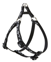 "Retired Lupine Silver Charm 10-13"" Step-in Harness - Small Dog"