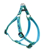 "Retired LupinePet Sea Ponies 10-13"" Step-in Harness - Small Dog"