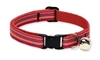 Retired Lupine Sunset Stripe Cat Collar with Bell