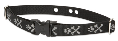 "LupinePet 1"" Bling Bonz Underground Containment Collar"