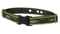 "LupinePet 1"" Brook Trout Underground Containment Collar"