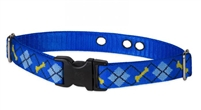 "LupinePet 1"" Dapper Dog Underground Containment Collar"