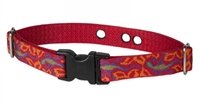 "Lupine Go Go Gecko 1"" Underground Containment Collar - Large Dog"