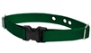 "Lupine Solid Green 1"" Underground Containment Collar - Large Dog"