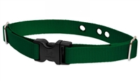 "LupinePet 1"" Solid Green Underground Containment Collar"