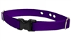 "LupinePet 1"" Solid Purple Underground Containment Collar"