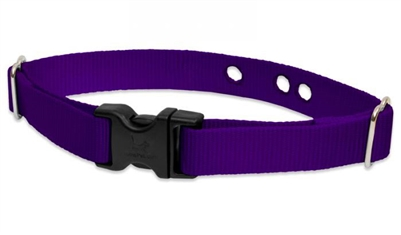 "Lupine Solid Purple 1"" Underground Containment Collar - Large Dog"