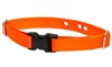 "LupinePet 1"" Solid Blaze Orange Underground Containment Collar"