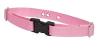 "Lupine Solid Bubblegum Pink 1"" Underground Containment Collar - Large Dog"