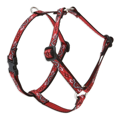 "Lupine Retired Wild West 9-14"" Roman Harness"