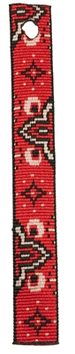 "Lupine 3/4"" Wild West Bookmark - Includes Matching Tassel"