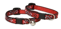 Lupine Retired Wild West Cat Collar with Bell