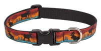 "Lupine Moose on the Loose 16-28"" Adjustable Collar"