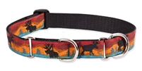 "Lupine 1"" Moose on the Loose 19-27"" Martingale Training Collar"