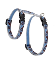 "Lupine 1/2"" Muddy Paws 12-20"" H-Style Cat Harness"