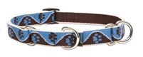 "Lupine 3/4"" Muddy Paws 14-20"" Martingale Training Collar"