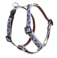 "Lupine 3/4"" Muddy Paws 14-24"" Roman Harness"
