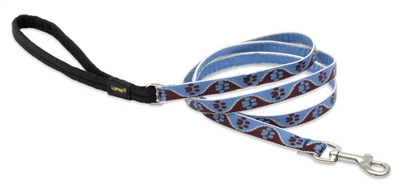 "Lupine 1/2"" Muddy Paws 4' Padded Handle Leash"
