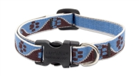 "Lupine 1/2"" Muddy Paws 8-12"" Adjustable Collar"