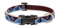 "Lupine 3/4"" Muddy Paws 9-14"" Adjustable Collar"