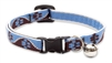 "Lupine 1/2"" Muddy Paws Cat Safety Collar with Bell"