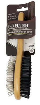 OmniPet Pin & Bristle Brush for Dogs - Medium