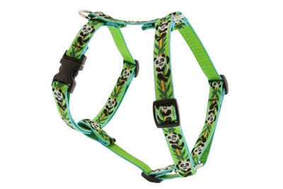"Lupine 1/2"" Panda Land 12-20"" Roman Harness"