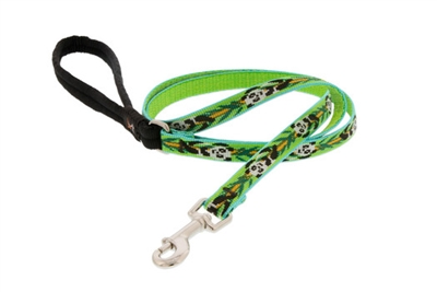 "Lupine 1/2"" Panda Land 4' Padded Handle Leash"