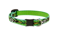 "Lupine 1/2"" Panda Land Cat Safety Collar"
