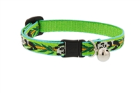 "Lupine 1/2"" Panda Land Cat Safety Collar with Bell"