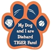 My Dog and I are Diehard Tigers Fans Magnet