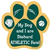 My Dog and I are Diehard Athletics Fans Magnet