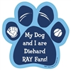 My Dog and I are Diehard Rays Fans Magnet