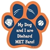 My Dog and I are Diehard Mets Fans Magnet