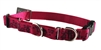 Lupine Plum Blossom Buckle Combo/Martingale Training Collar - Large Dog