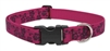 "LupinePet Originals 1"" Plum Blossom 16-28"" Adjustable Collar for Medium and Larger Dogs"