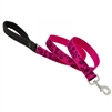 "Lupine 1"" Plum Blossom 4' Padded Handle Leash"