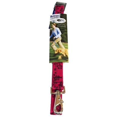 Lupine Plum Blossom Retrax - Large Dog