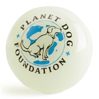 Planet Dog Glow for Good Ball - Made in the USA