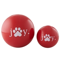 "Planet Dog Holiday Joy Ball 4"" - Made in the USA"