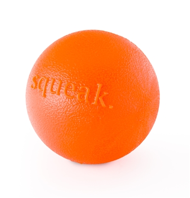 Planet Dog Squeak (Orange) - Made in the USA