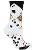 Wheel House Design Casino Cards on Multi Socks (Size 9-11)