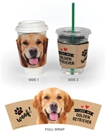 Golden Retriever (I Love My) Cup Hugger