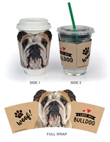 Bulldog (I Love My) Cup Hugger