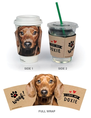 Doxie (I Love My) Cup Hugger