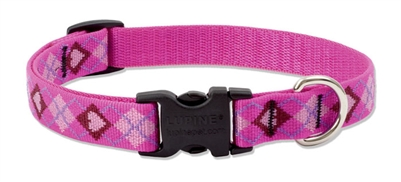 "Lupine 3/4"" Puppy Love 15-25"" Adjustable Collar"