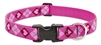 "LupinePet Originals 1"" Puppy Love 16-28"" Adjustable Collar for Medium and Larger Dogs"