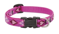 "Lupine 1/2"" Puppy Love 8-12"" Adjustable Collar"