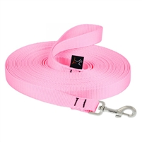 "Lupine 3/4"" Pink Training Lead (15' or 30')"