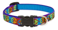 "Retired Lupine 1/2"" Peace Pup 10-16"" Adjustable Collar"